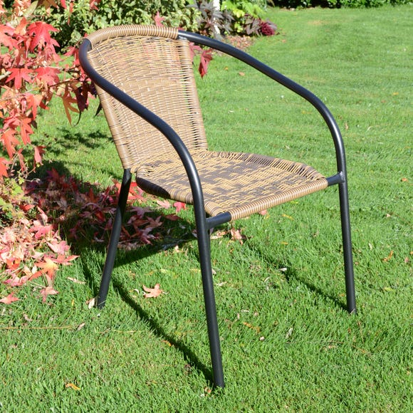 Set of 2 San Remo Chairs Brown