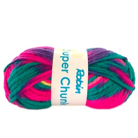 Robin Super Chunky Prints 100g Carnival Yarn