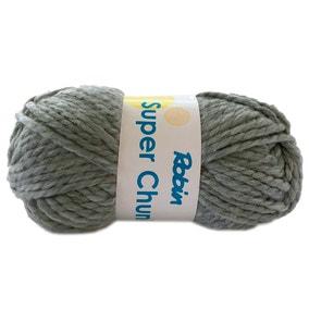 Robin Super Chunky 100g Silver Yarn