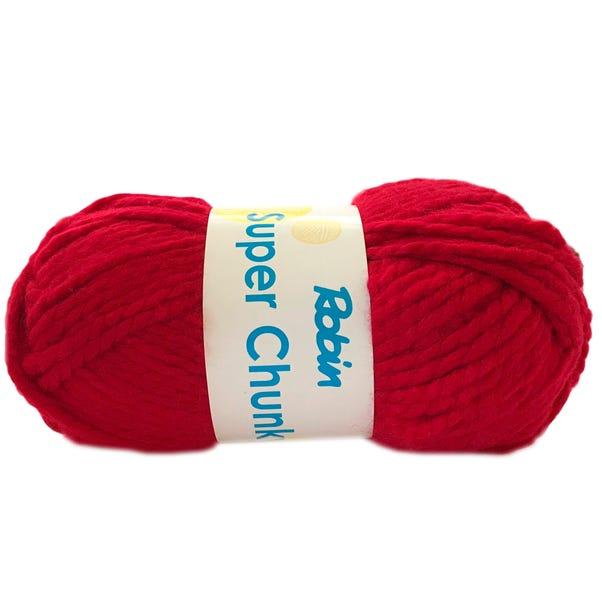 Robin Super Chunky 100g Claret Yarn