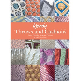 Wendy 370 Throws and Cushions Pattern Book
