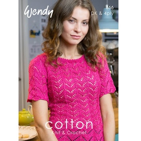 Wendy 366 Cotton DK Pattern Book