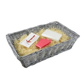 Make Your Own Grey Hamper