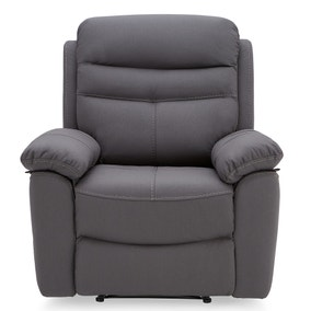 Conway Reclining Armchair - Grey