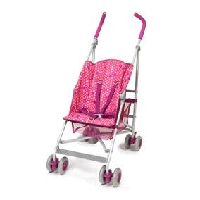 Polka Pink Stroller