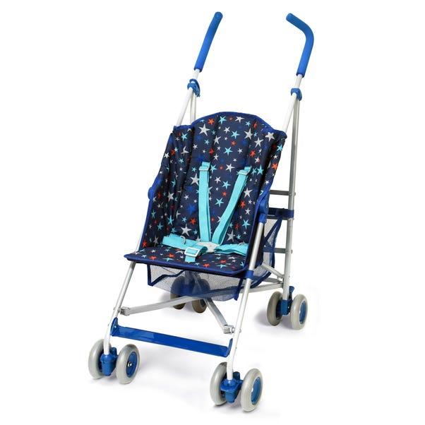 Starstruck Blue Stroller Blue