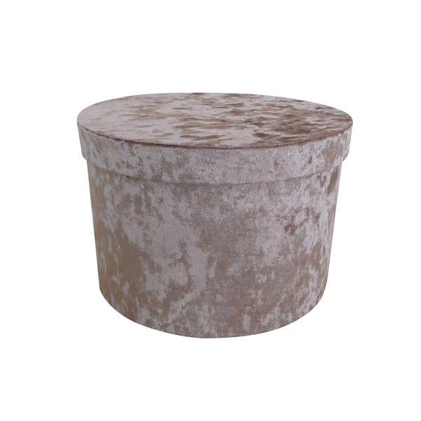 Blush Velvet Storage Box  undefined