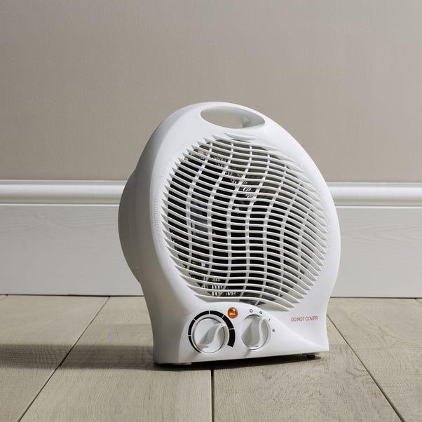 2000W Fan Heater White