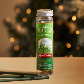 Pack of 6 White Winter Fir Scentsicles