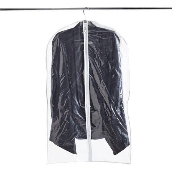 Set of 2 Suit Covers Clear