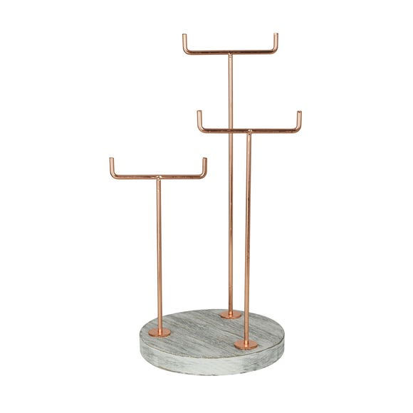 Copper Jewellery Holder Copper