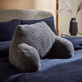 Teddy Bear Charcoal Cuddle Cushion