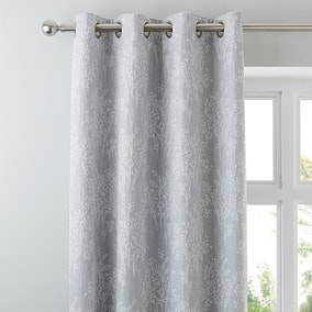 Adrianna Seafoam Eyelet Curtains