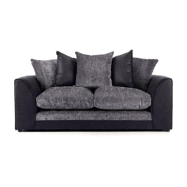 Denver 3 Seater Sofa Dark Grey