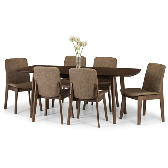 Kensington Extending Dining Table Beech (Brown)