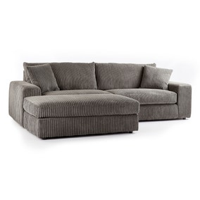 Champ Fabric Reversible Corner Chaise Sofa