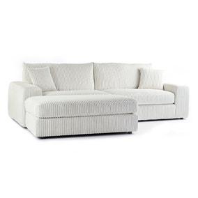 Champ Fabric Reversible Corner Chaise Sofa