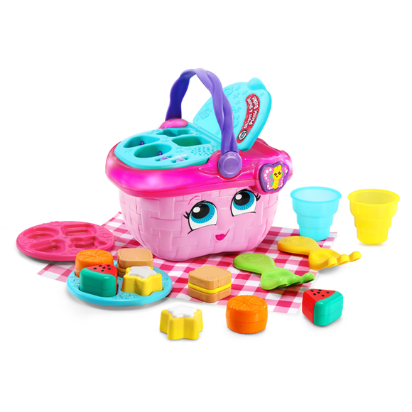 LeapFrog Shapes and Sharing Picnic Basket MultiColoured