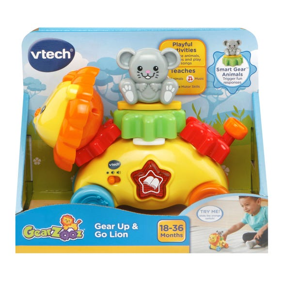 Vtech Gear Up And Go Lion MultiColoured