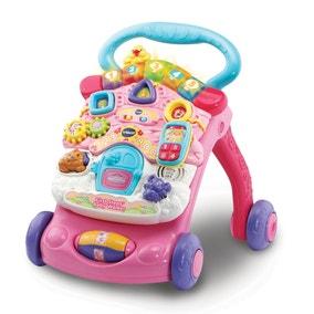 Vtech First Steps Pink Baby Walker
