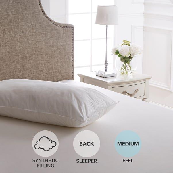 Dorma Full Forever Anti Allergy Kingsize Pillow White