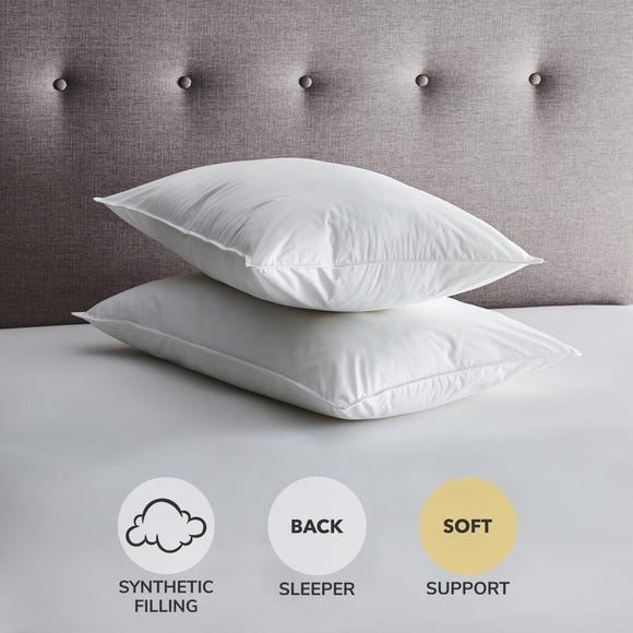 Fogarty Washable Soft-Support Pillow Pair