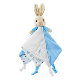 Peter Rabbit Rattle and Comfort Blanket Gift Set