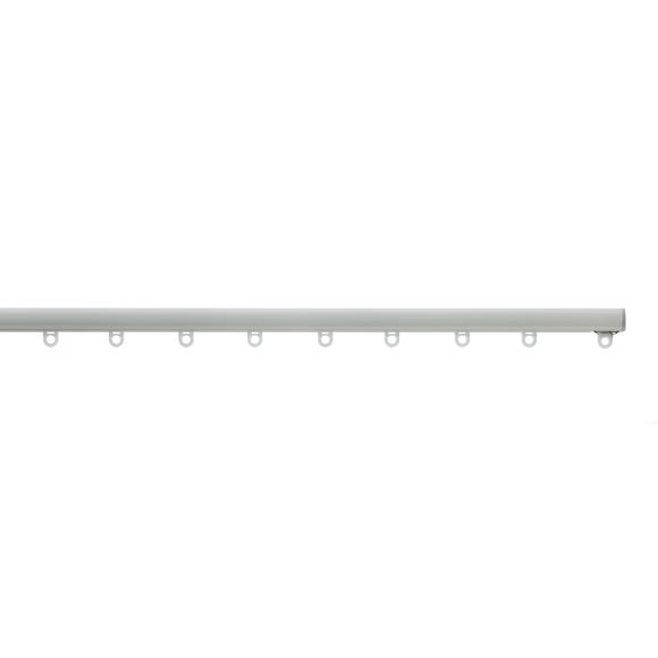 Swish Minima White Aluminium Ceiling Track White undefined