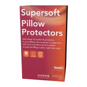 Supersoft Pillow Protector Pair