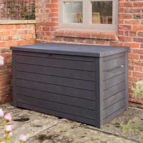 Grey Deck Outdoor Storage Box