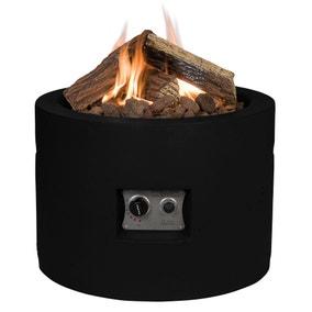 Round Black Fire Pit