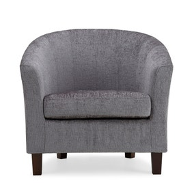 Maxwell Tub Chair - Silver