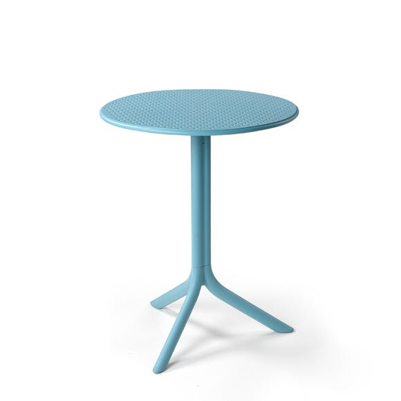 Nardi Blue Step Bistro Table