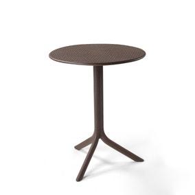 Nardi Brown Step Bistro Table