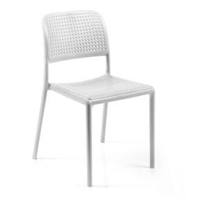 White Set of 2 Nardi Bistro Chairs