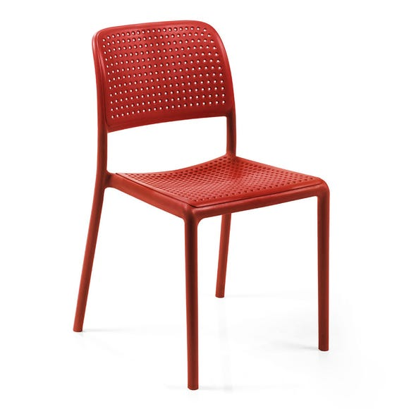 Red Set of 2 Nardi Bistro Chairs