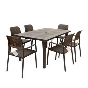 Libeccio Bora 6 Seat Dining Set