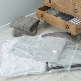 Set of Two Medium and Small Vacuum Storage Bags