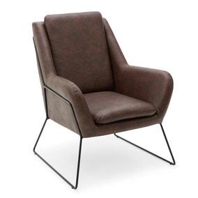 Ferne Metal Framed Chair - Brown