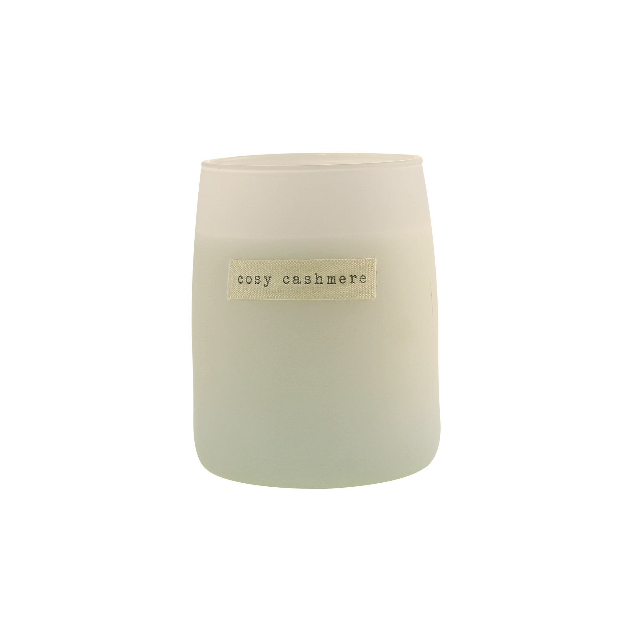 Click to view product details and reviews for Hygge Cosy Cashmere Candle White.