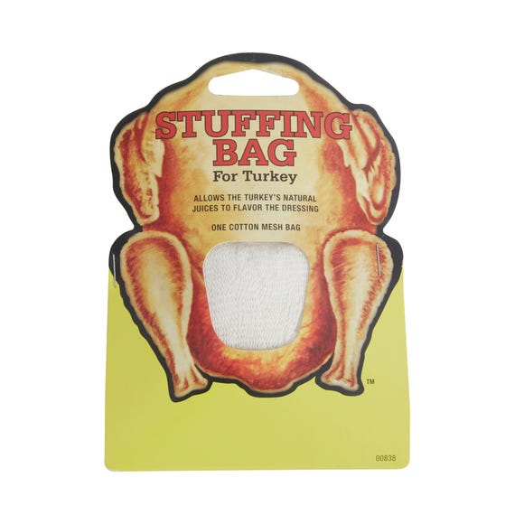 Turkey Stuffing Bag White
