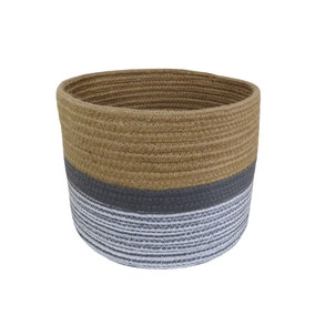 Small Monochrome Rope Basket