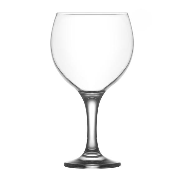 Large Gin Glass Clear