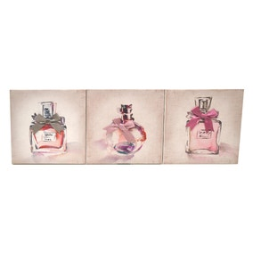 Perfume Bottles Canvas