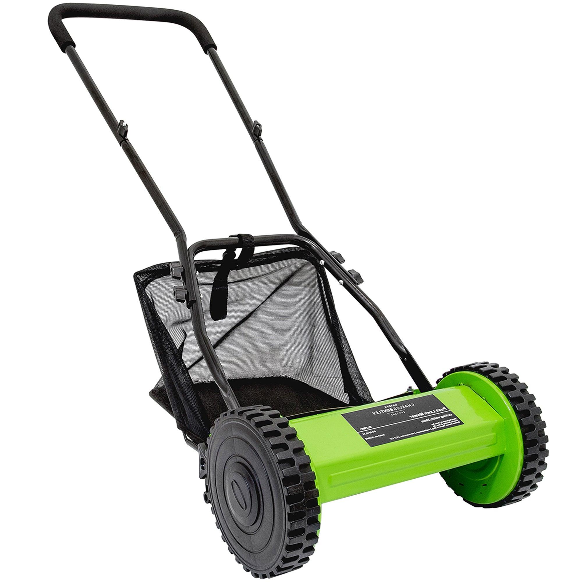 Hand Push Lawn Mower Green