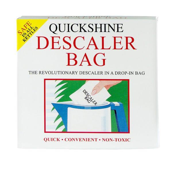 Quickshine Descaler Bag Clear