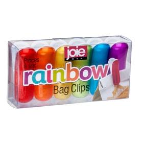 Joie 6 Pack Rainbow Bag Clips