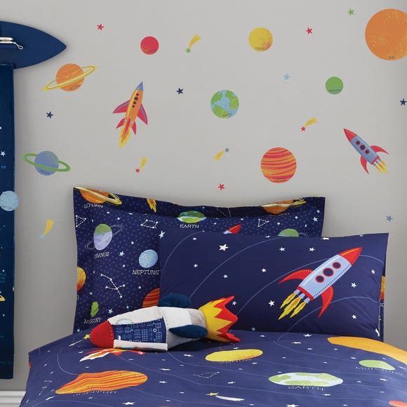 Space Wall Stickers MultiColoured