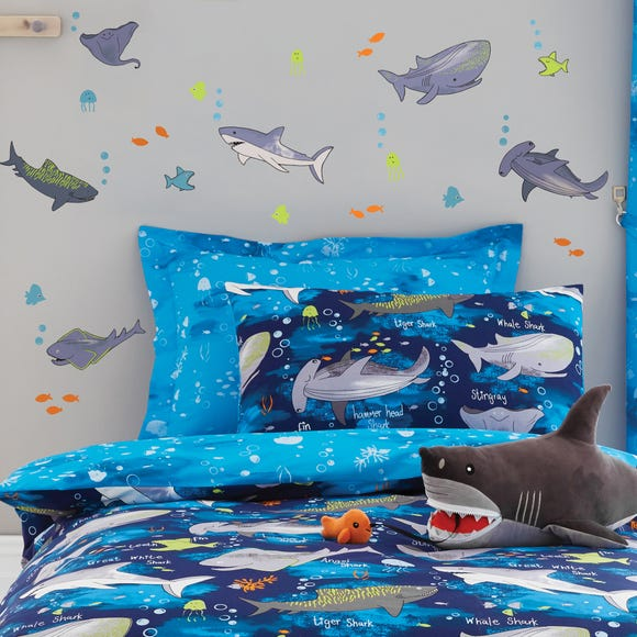 Sharks Wall Stickers Blue