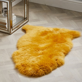 Single Pelt Sheepskin Rug